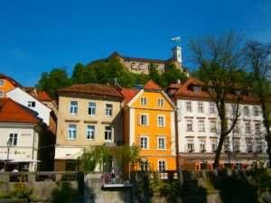 Slovenia castello Lubiana