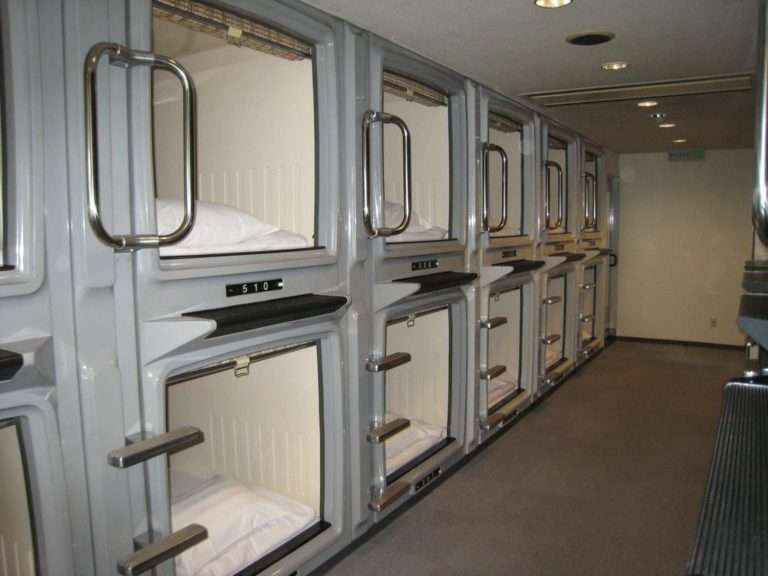 alloggi speciali capsule giappone