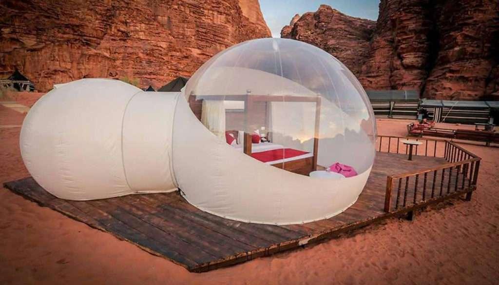 alloggi speciali bolla wadi rum
