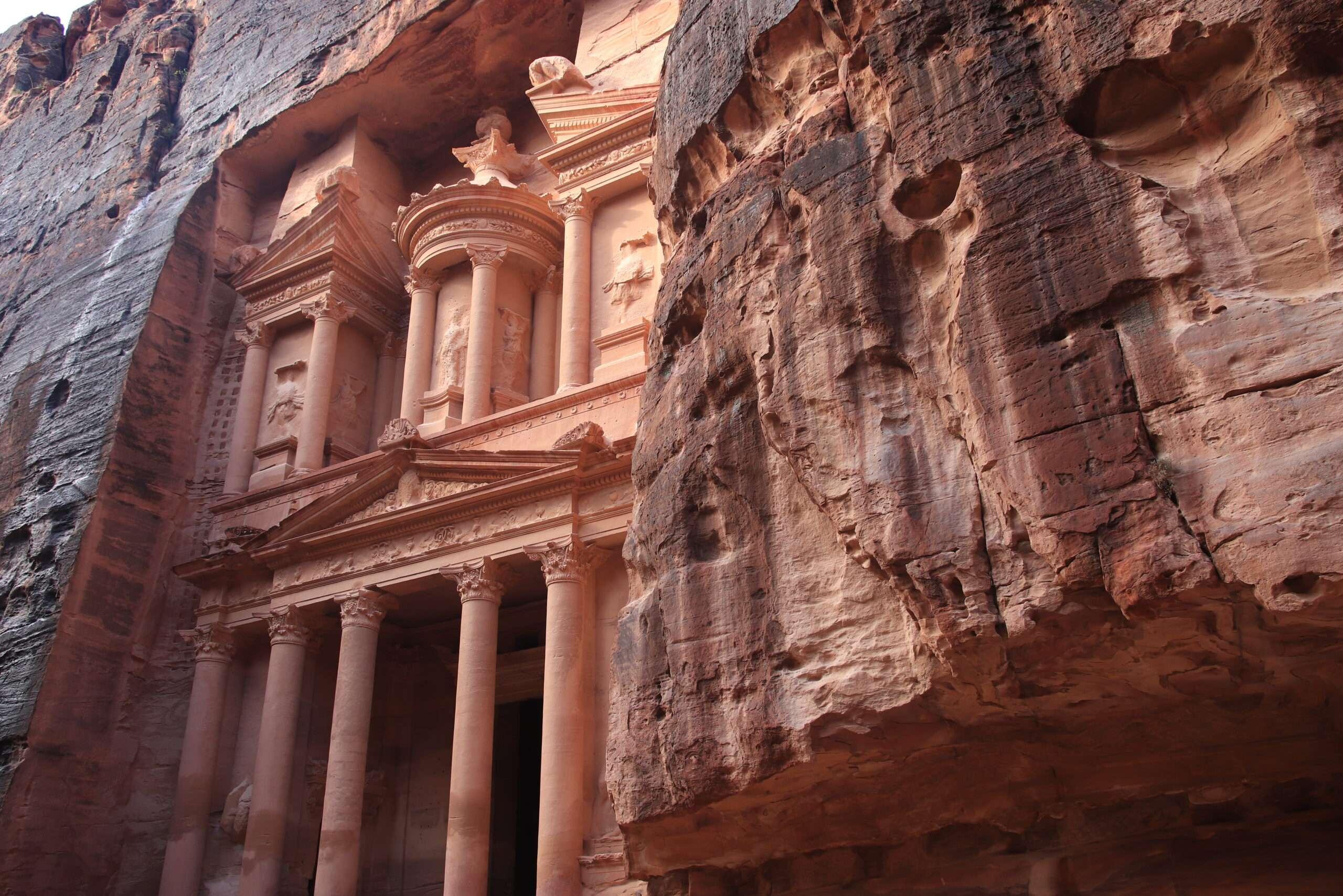 il tesoro petra giordania