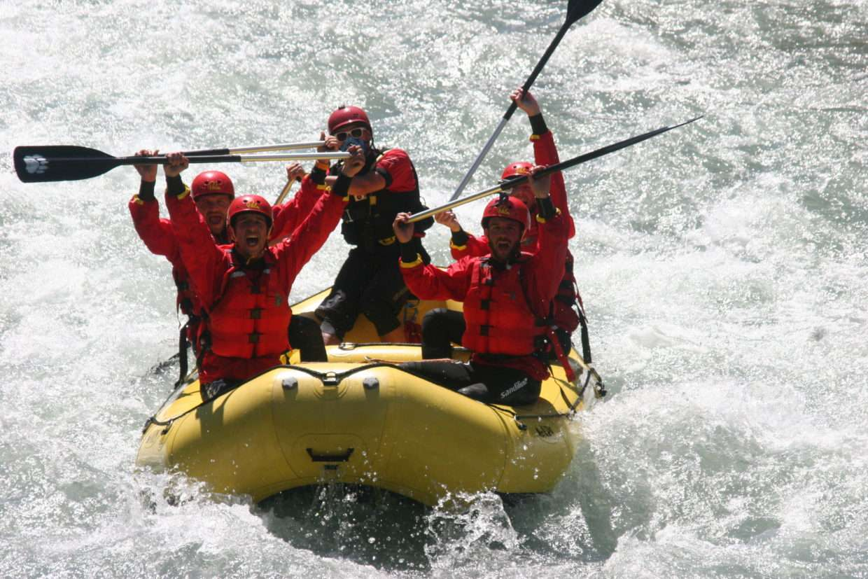 rafting Val di Sole